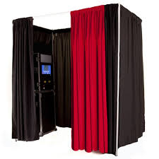 Photo booth-enclosed