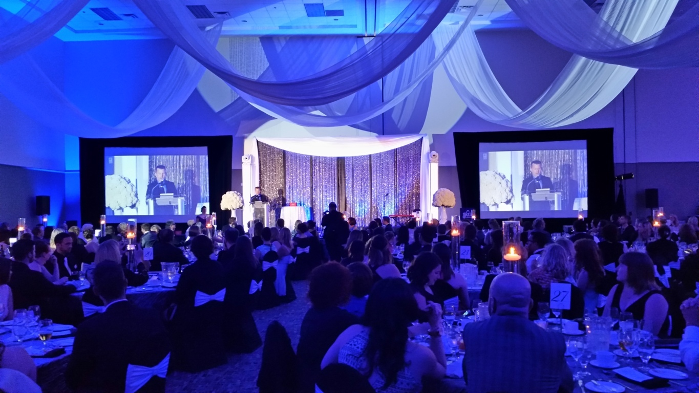 quality entertainment - lighting and sound   gala    awards