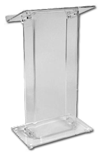 clear-podium