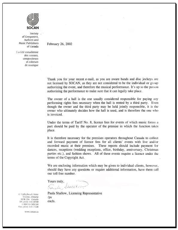 Socan-letter