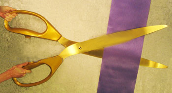 Ribbon Cutting Scissors
